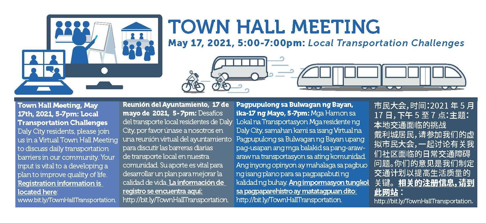 Transportation Town Hall May 2021